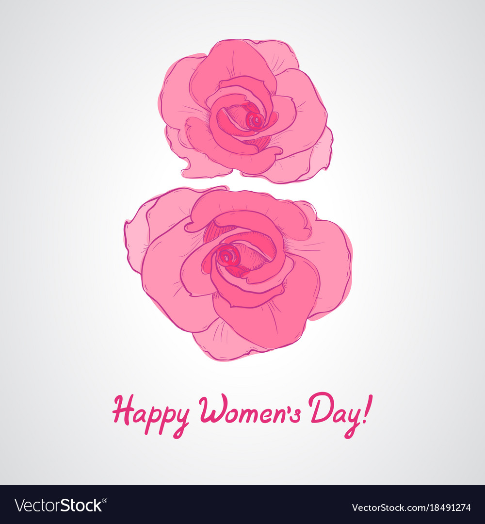 Womens day invitation cards