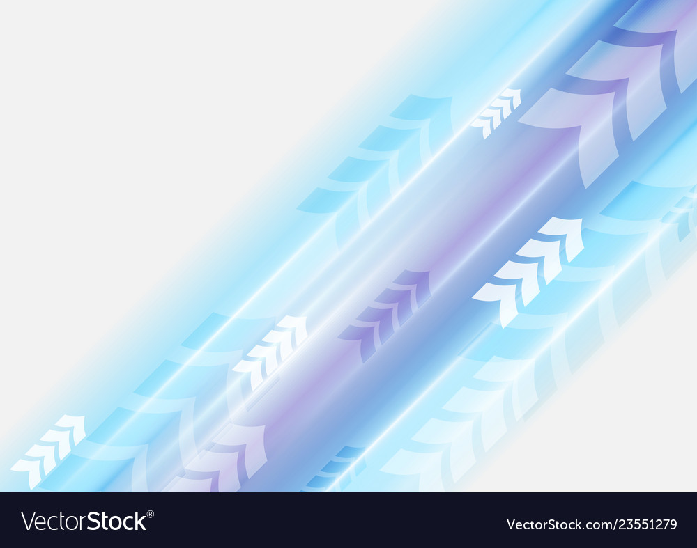 Blue violet arrows abstract technology background