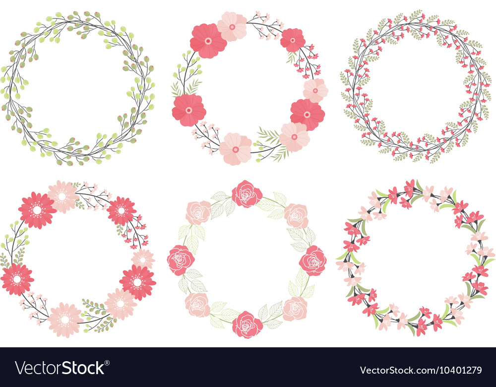 Wedding Wreath Set
