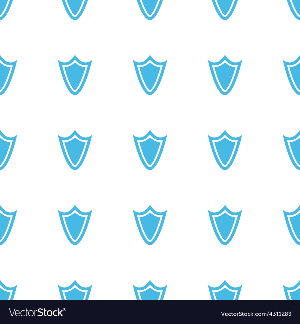 Unique Shield seamless pattern