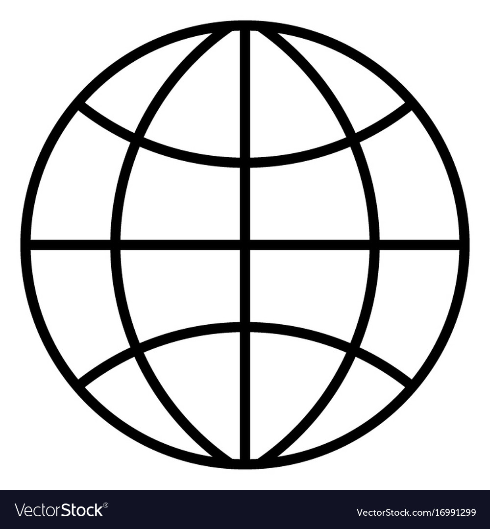 Earth Globes Isolated On White Background Flat Planet ...   Earth Flat Icon Eps