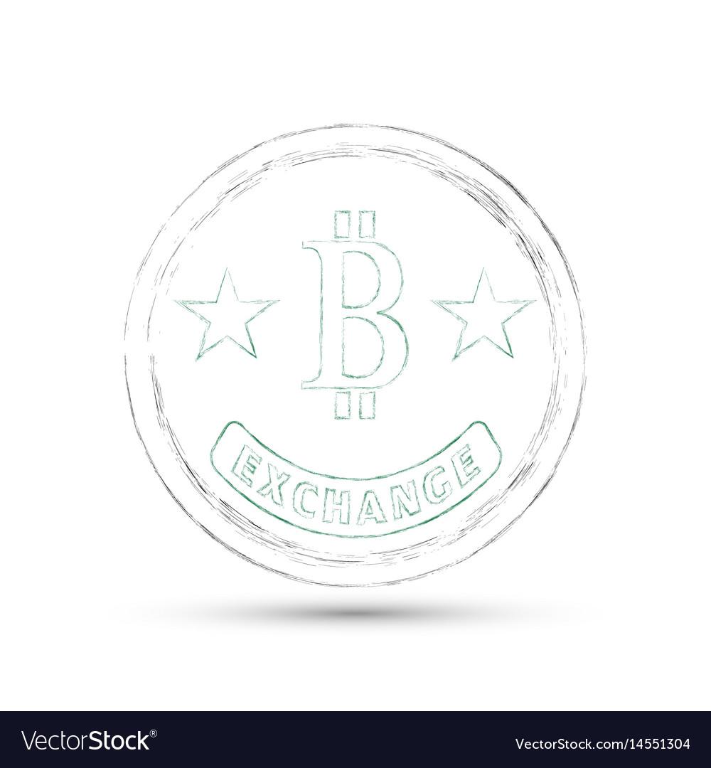 Badgegrunge style vector image