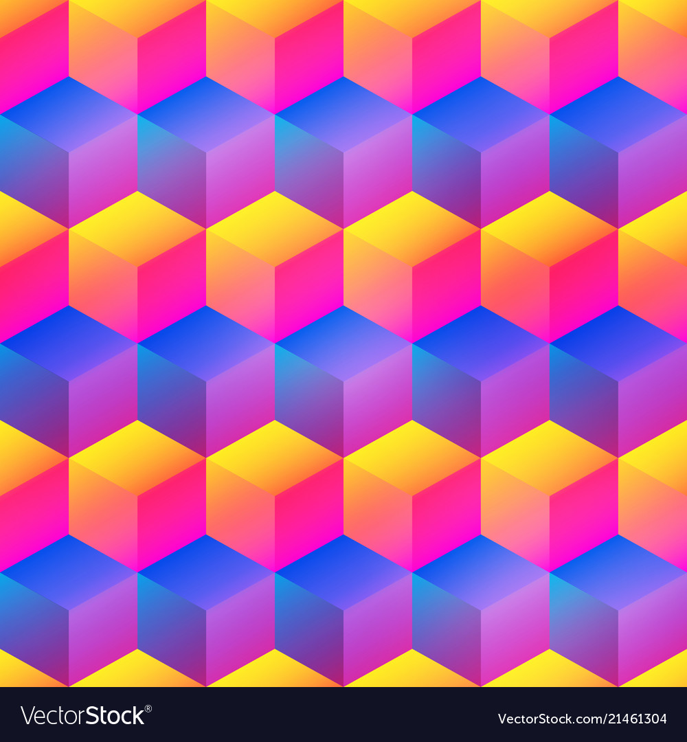 Bright square pattern