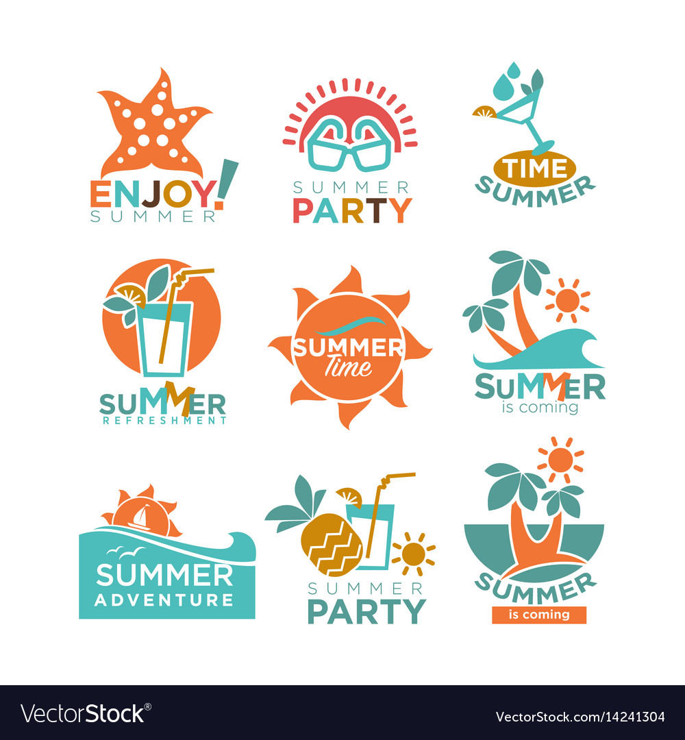 Summer holidays or party and travel adventure