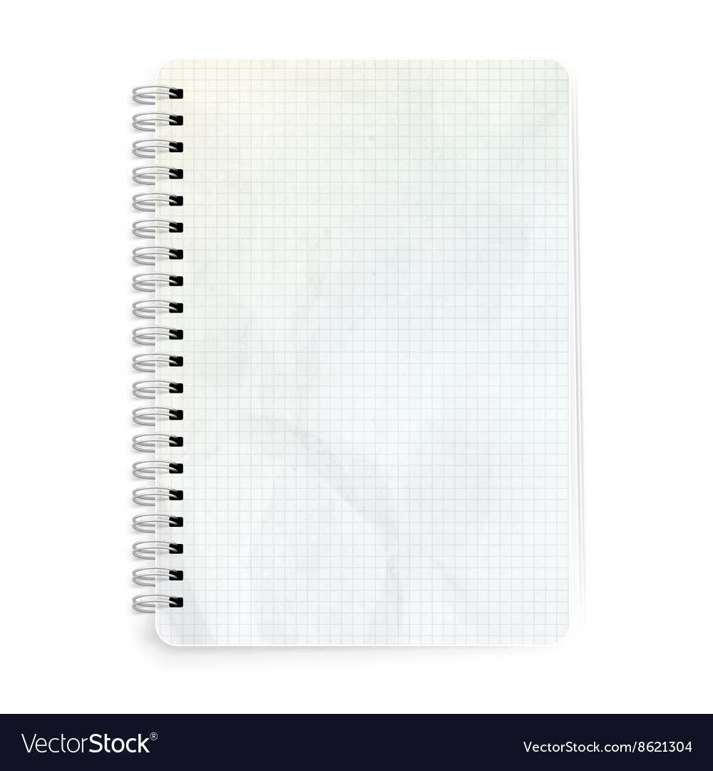 Template Notepad Design Eps 10 Royalty Free Vector Image