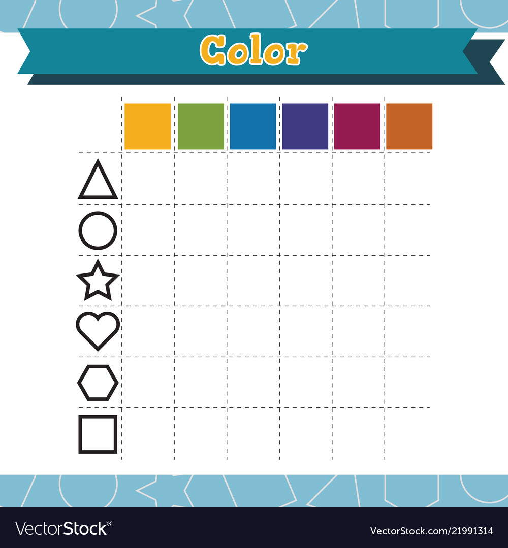 Learn shapes and geometric figures color