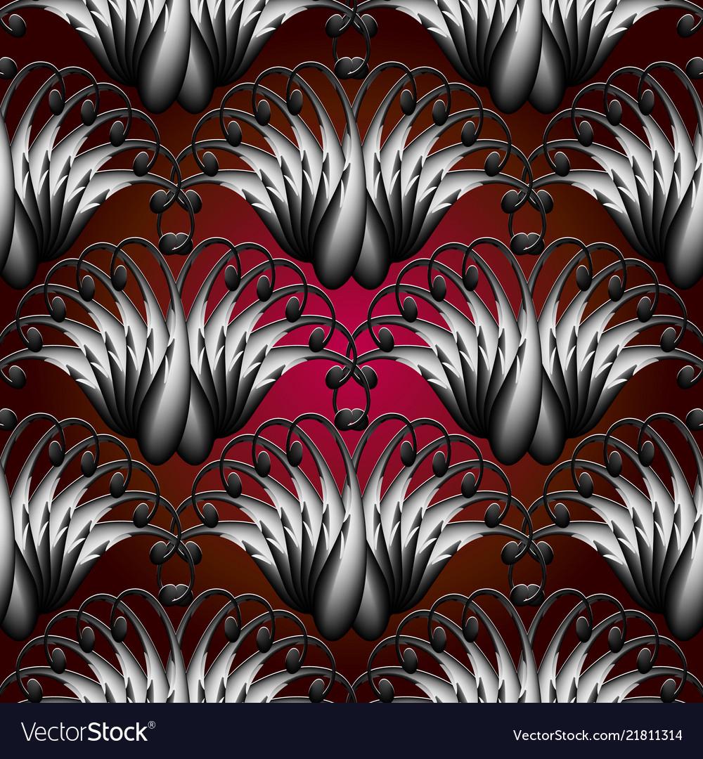 Vintage paisley seamless pattern ornamental