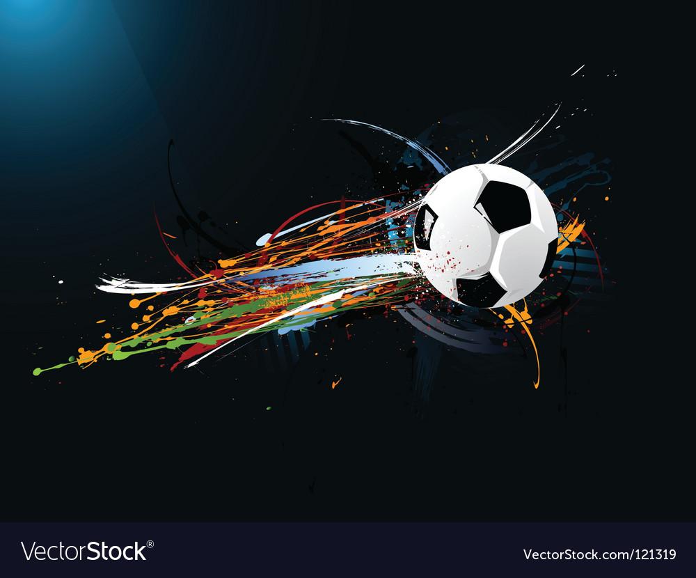 Abstract football