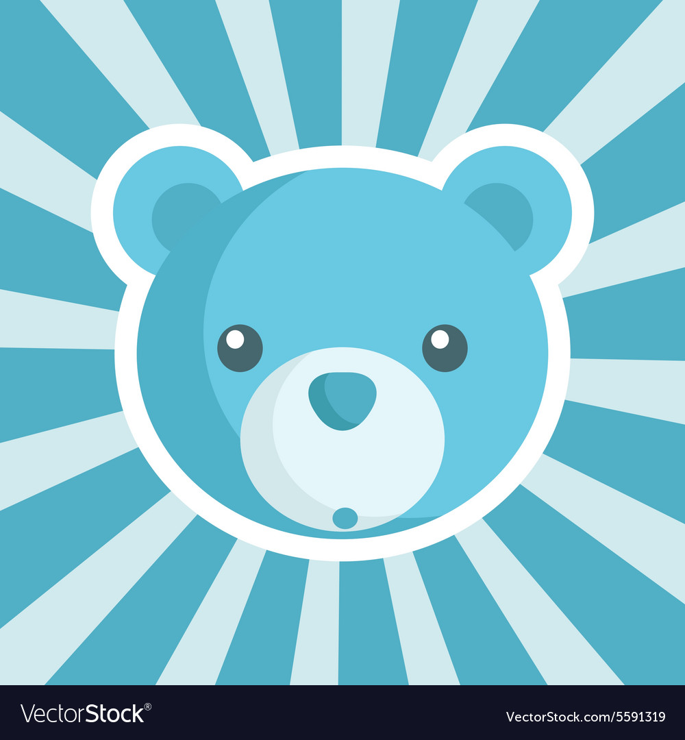 Baby Shower Bear Icon