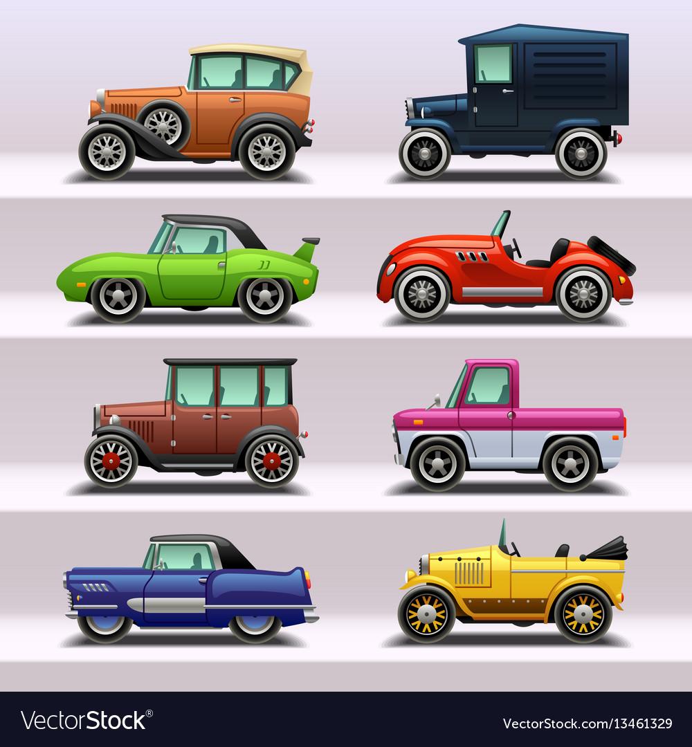 Car icon set-9