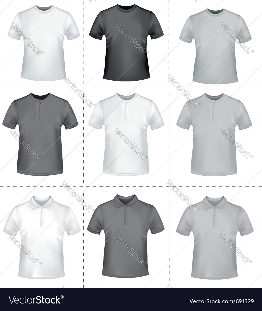 Polo shirts and t-shirts