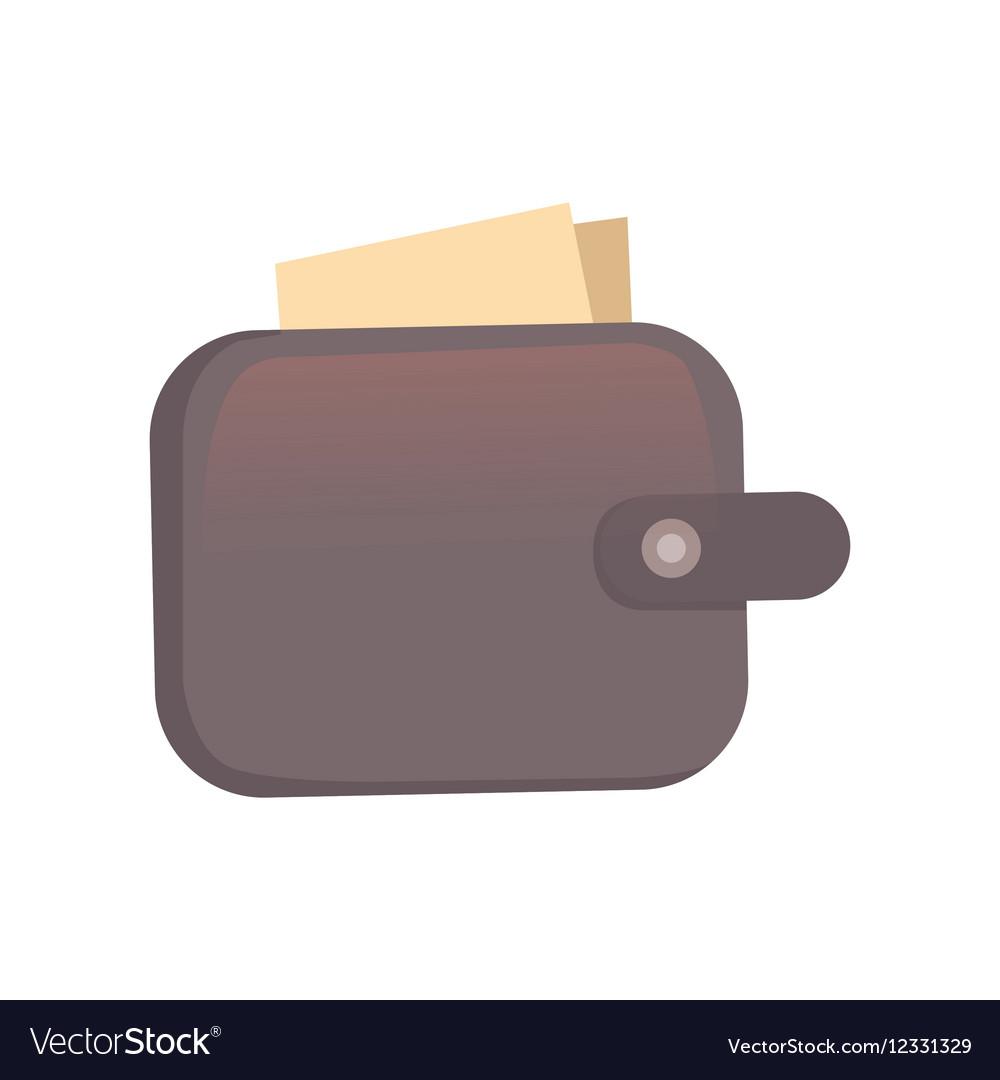 Purse Finance bag flat icon