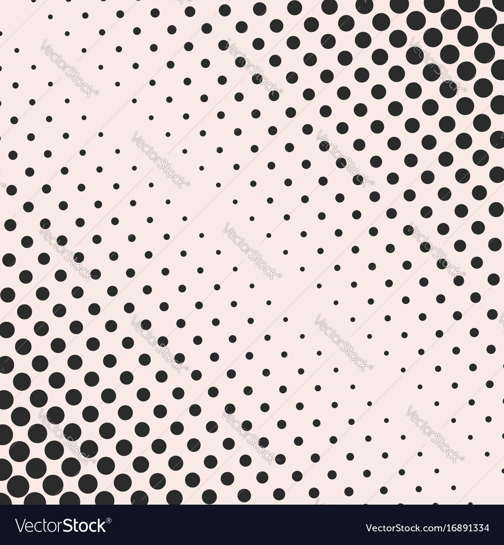 Halftone dots pattern geometric texture
