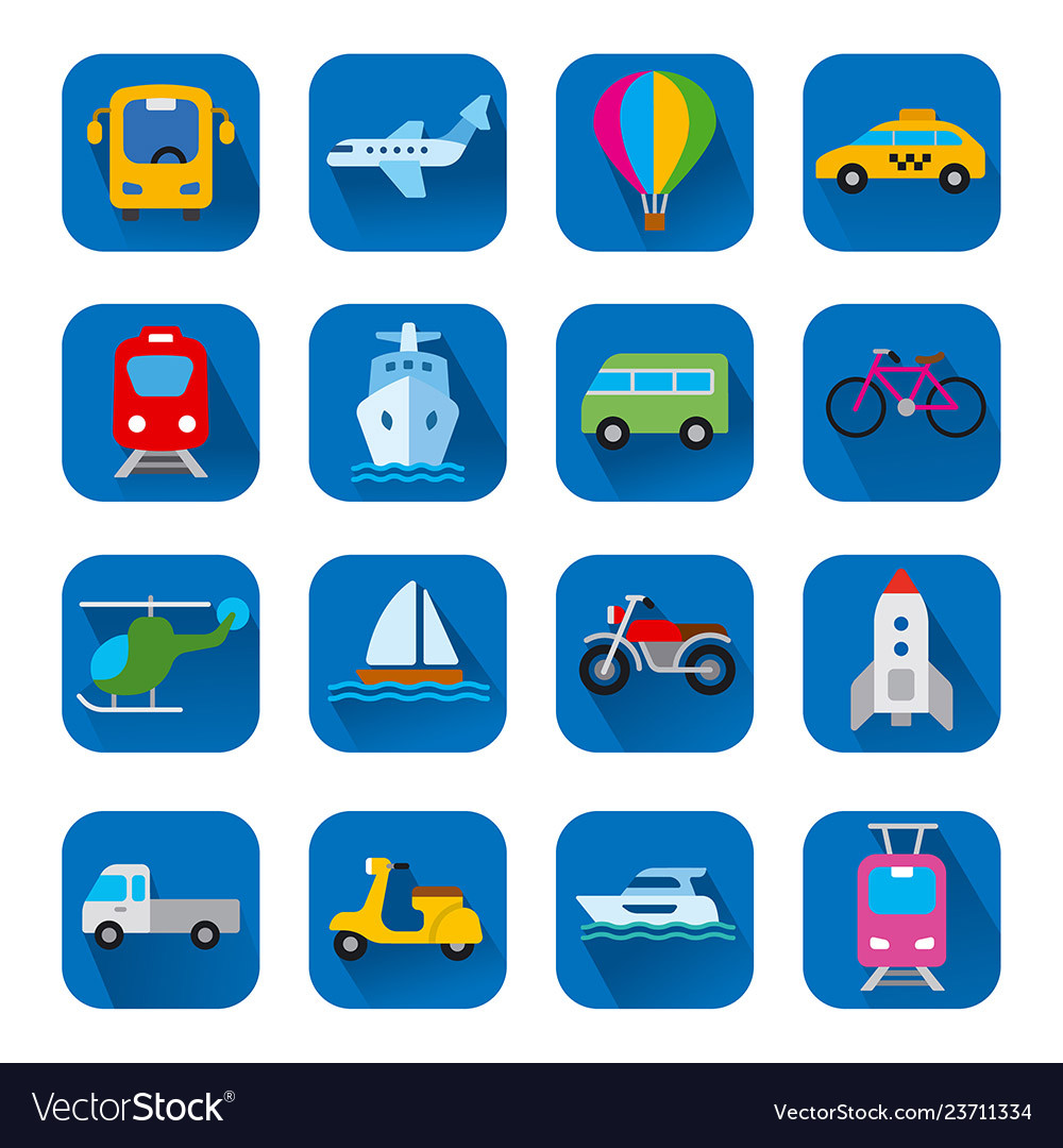 Icons of transport