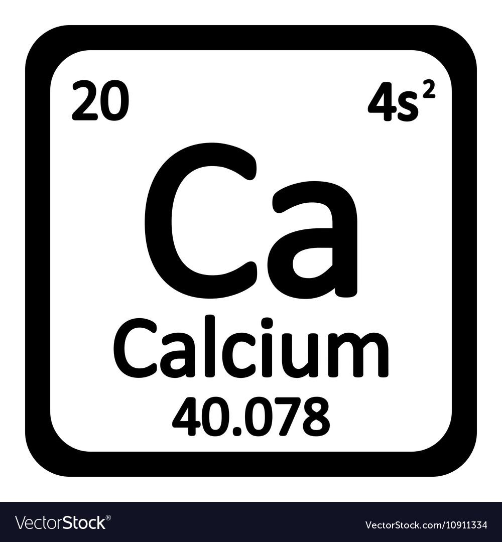 Periodic table element calcium icon royalty free vector periodic table element calcium icon vector image urtaz Images