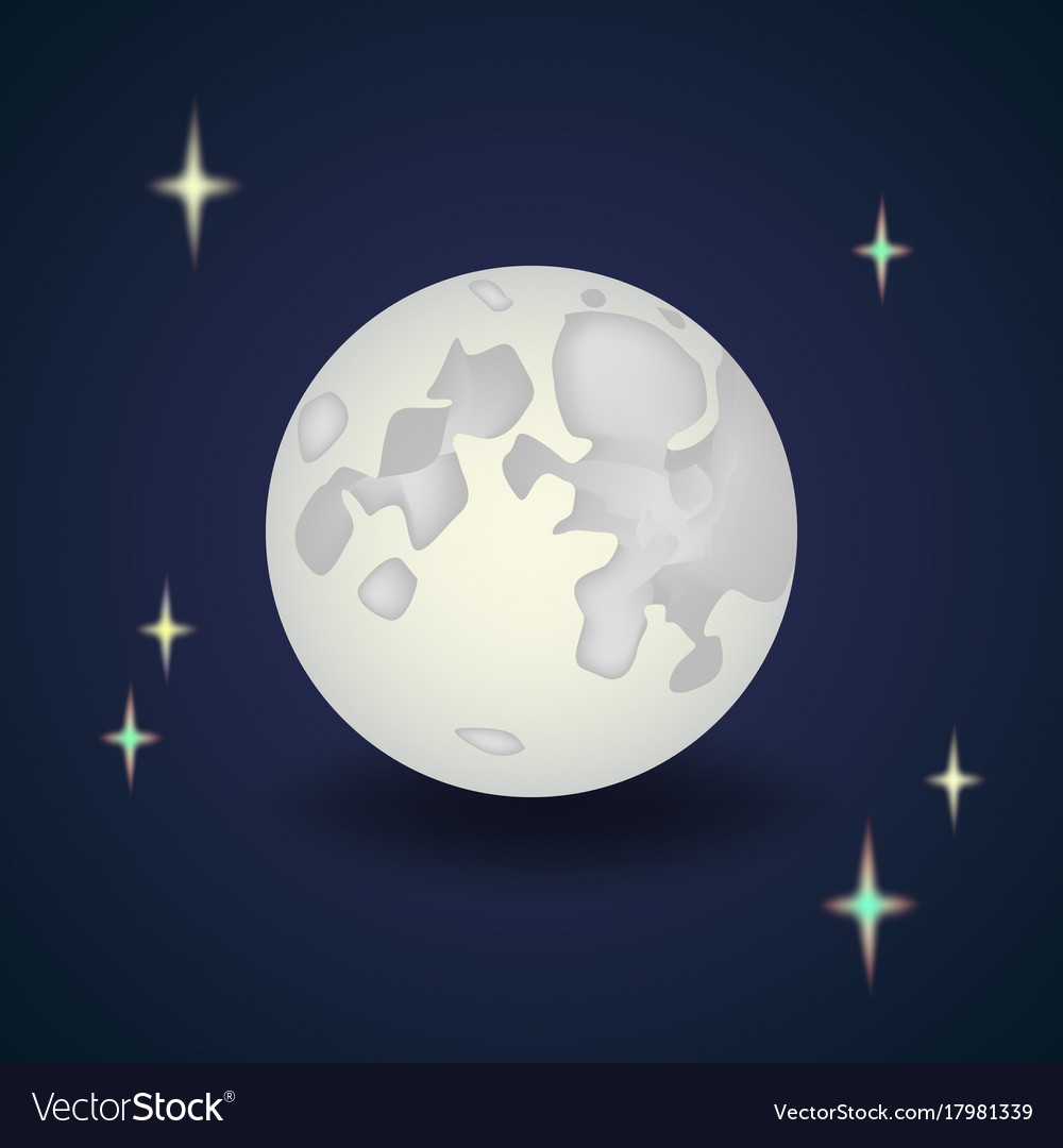 Wonderful Wallpaper Night Cartoon - cartoon-full-moon-with-stars-night-wallpaper-vector-17981339  Collection.jpg