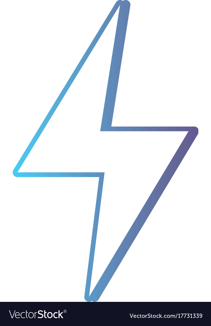 Line Hazard Electric Energy Symbol Royalty Free Vector Image