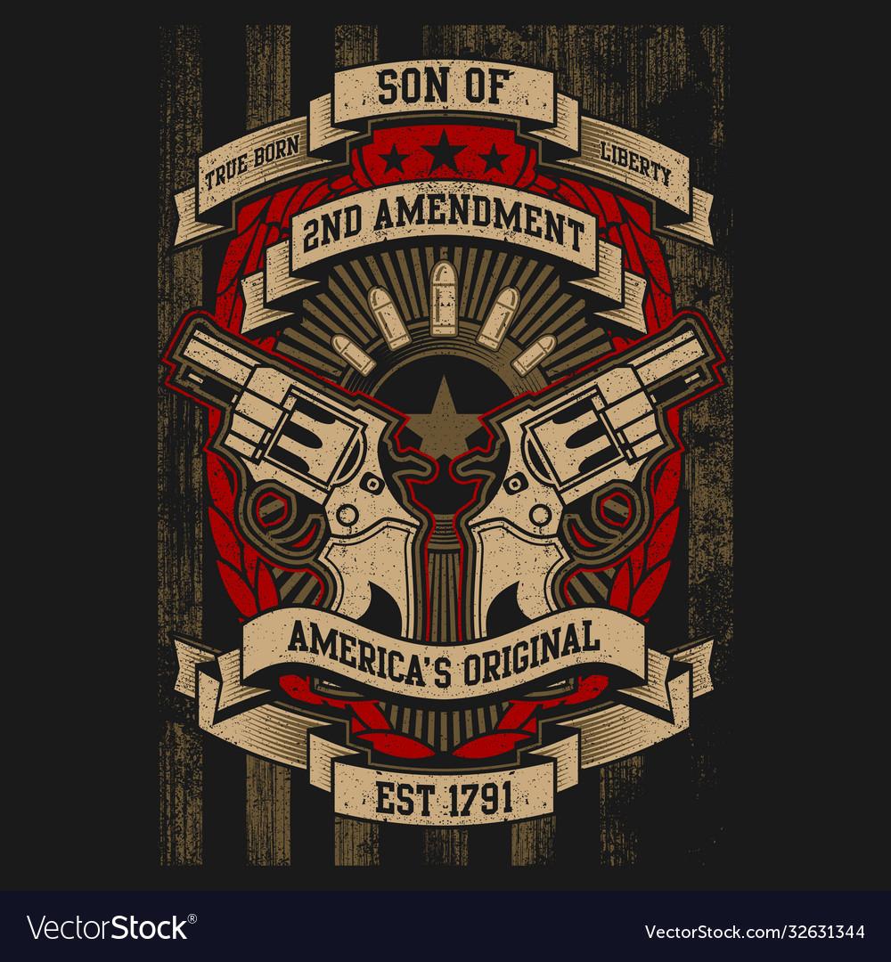2nd amendment - american