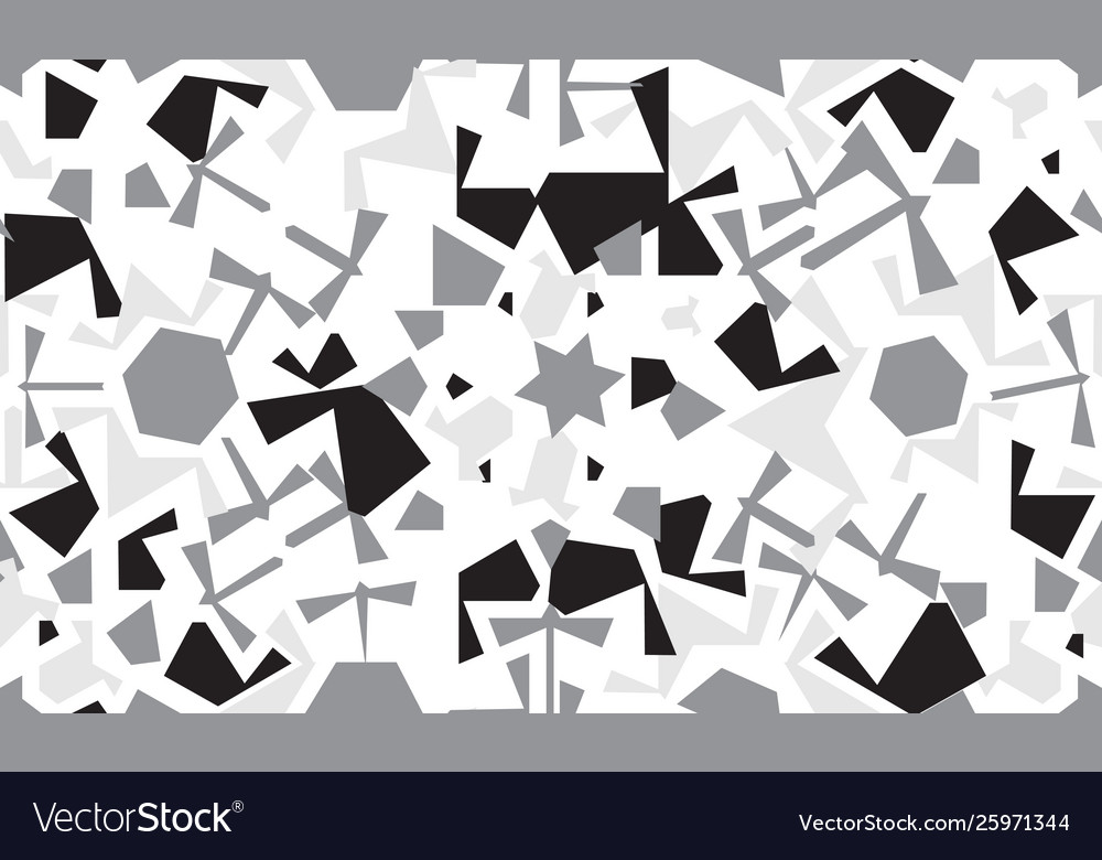 Abstract seamless pattern design with random