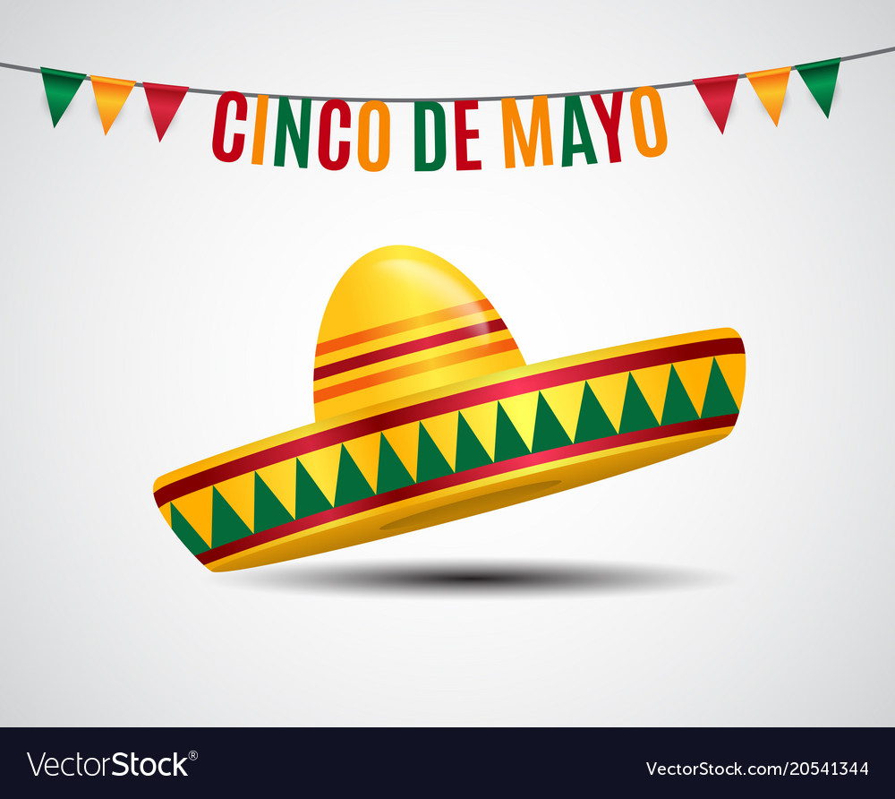 Cinco de mayo holiday background