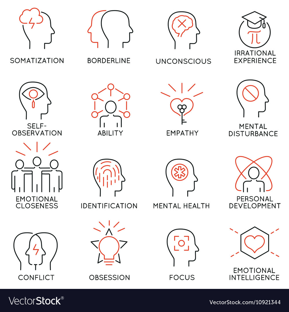 Mental process icons 1 royalty free vector image mental process icons 1 vector image ccuart Choice Image