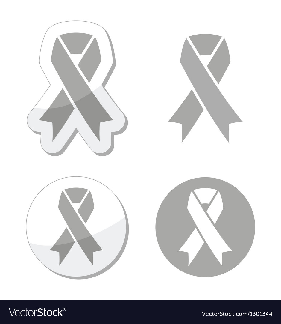Silver ribbon - children with disabilities sign