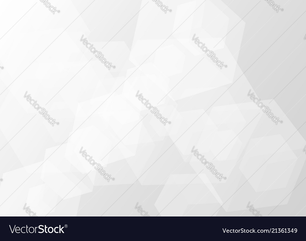 Abstract gray transparent cube background