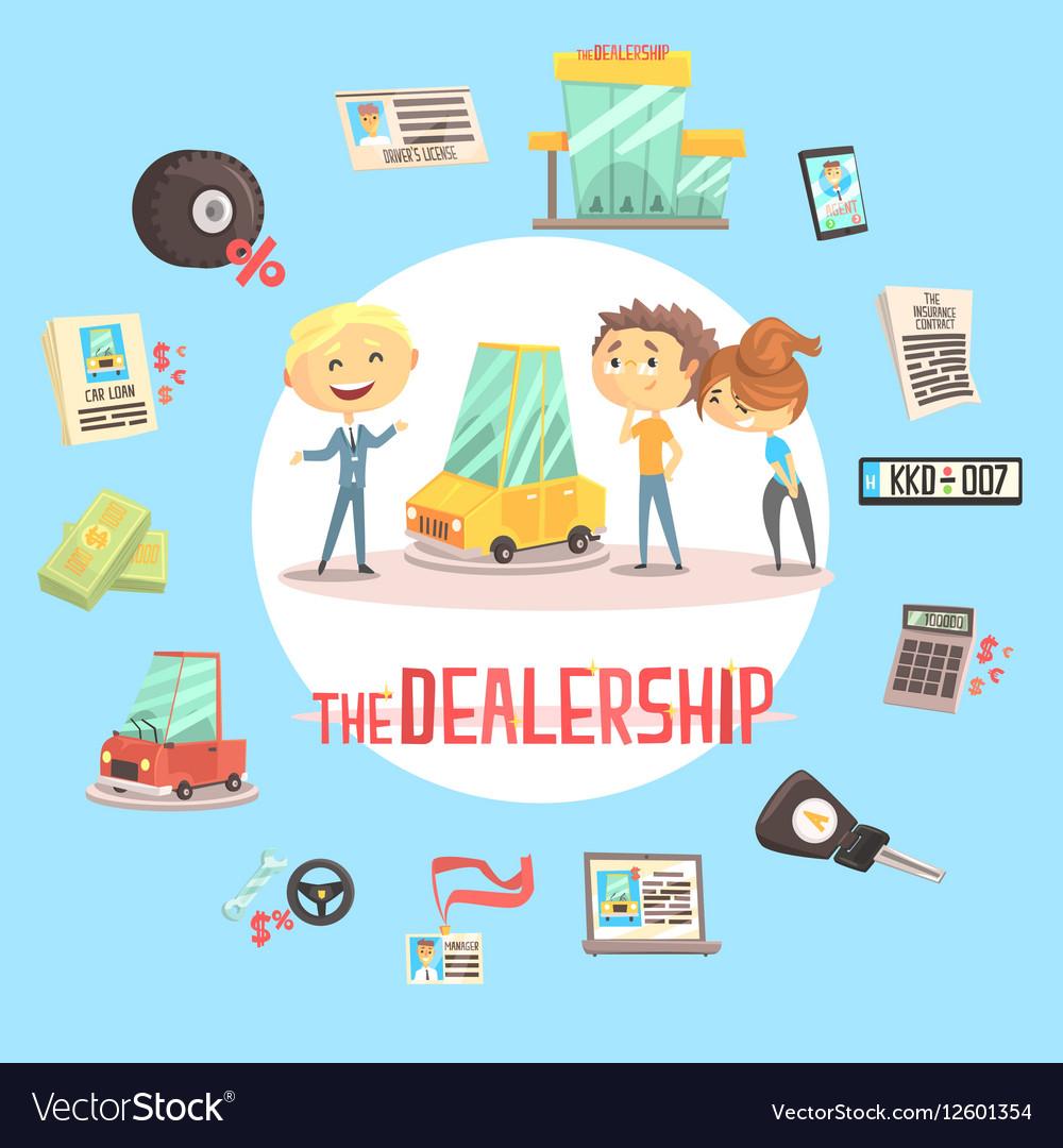 Car Dealership Firm Professional Dealer Selling