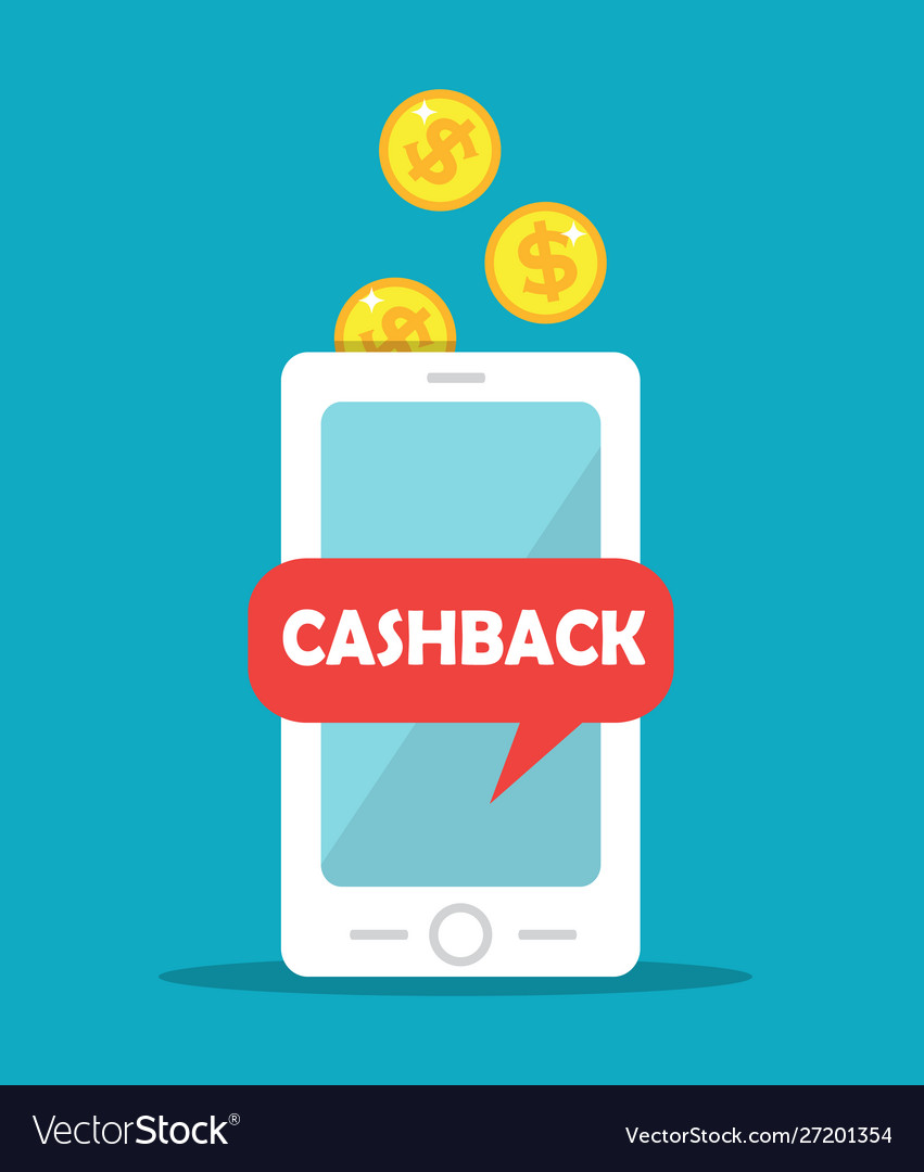 Cashback gold coins and mobile phone