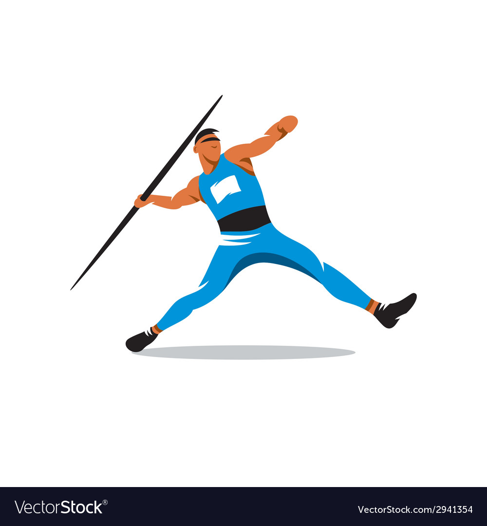 Javelin Thrower sign