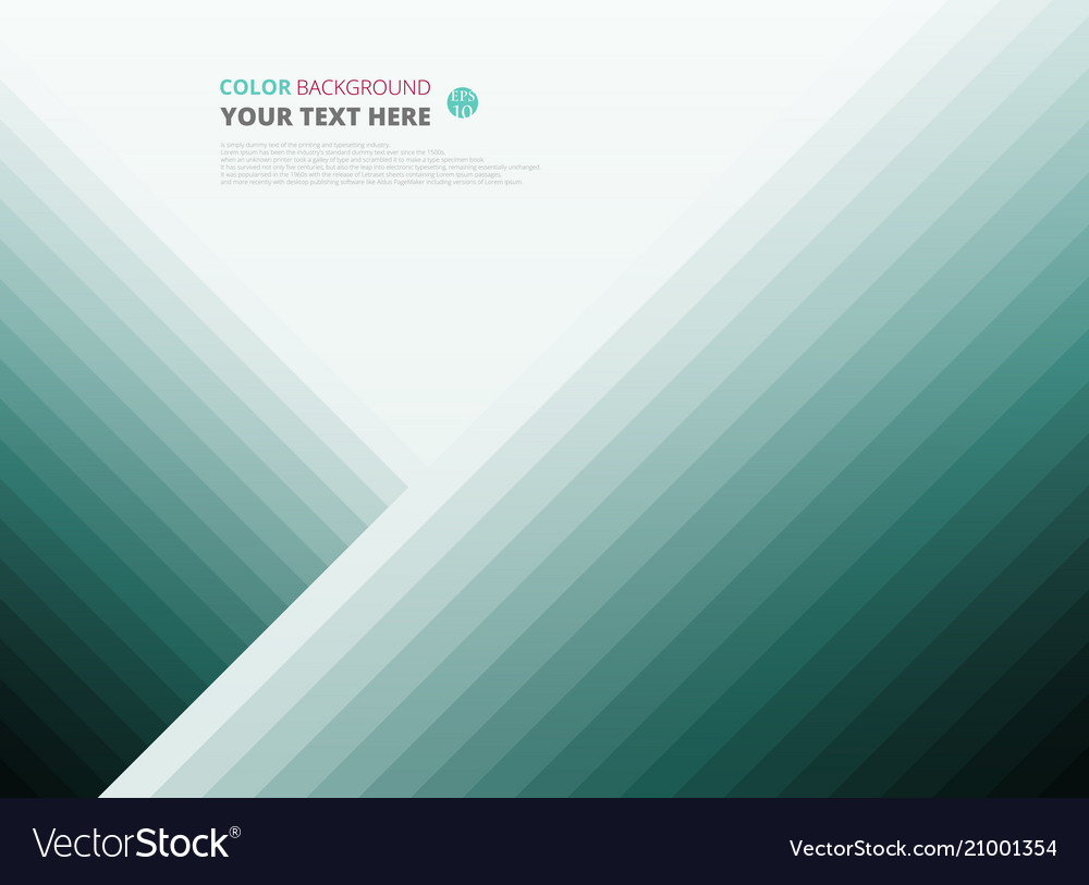 Modern of blue green color level background for vector image