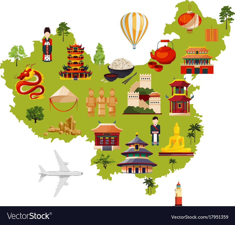 Chinese travel with different