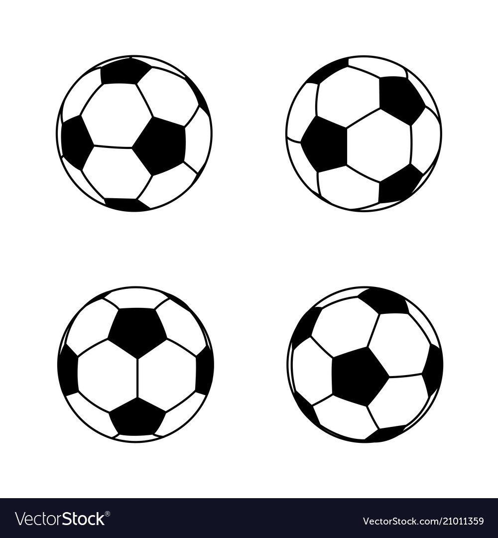 Collection of basic and simple black and white vector image