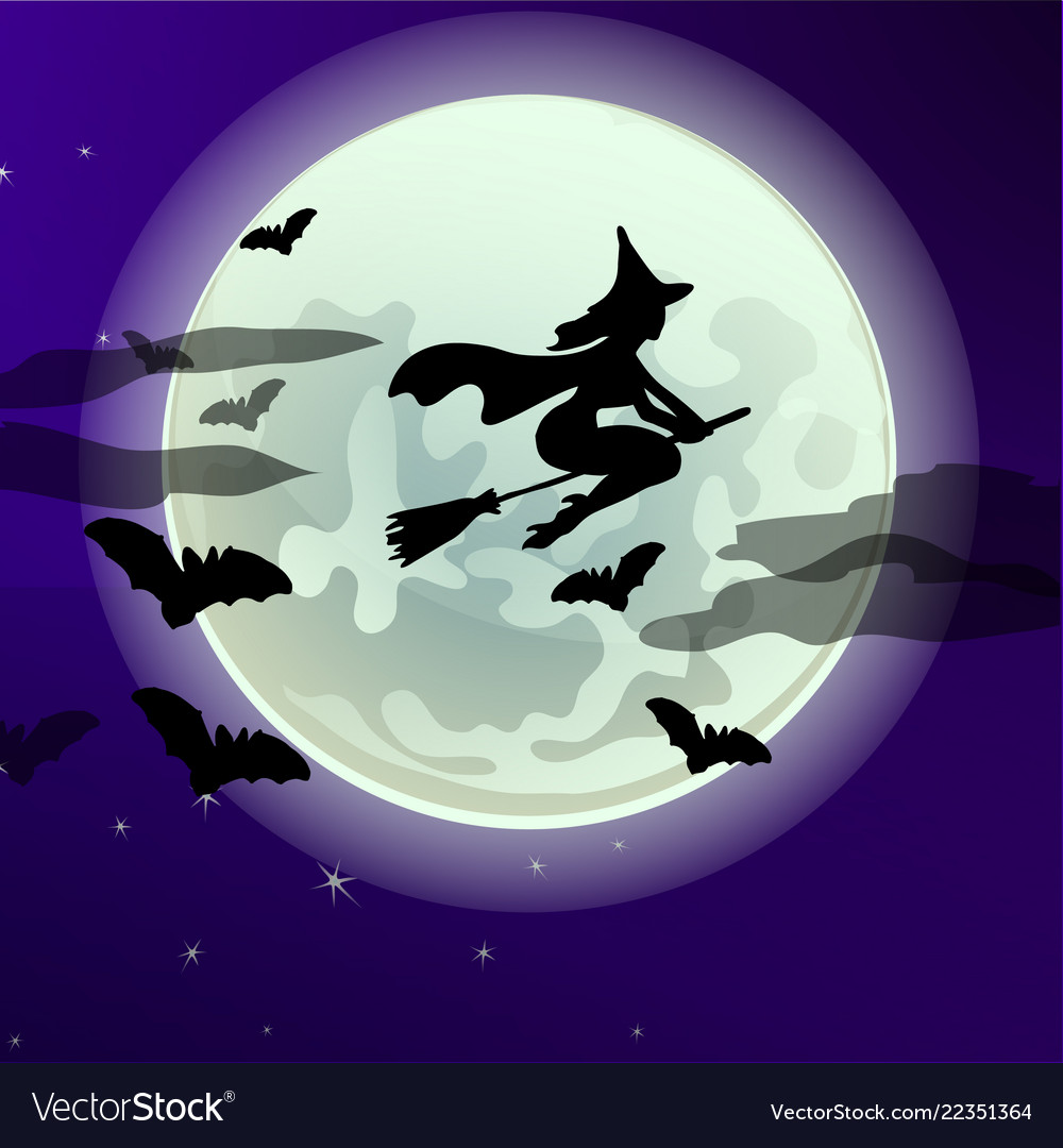 Poster on theme of halloween holiday party or