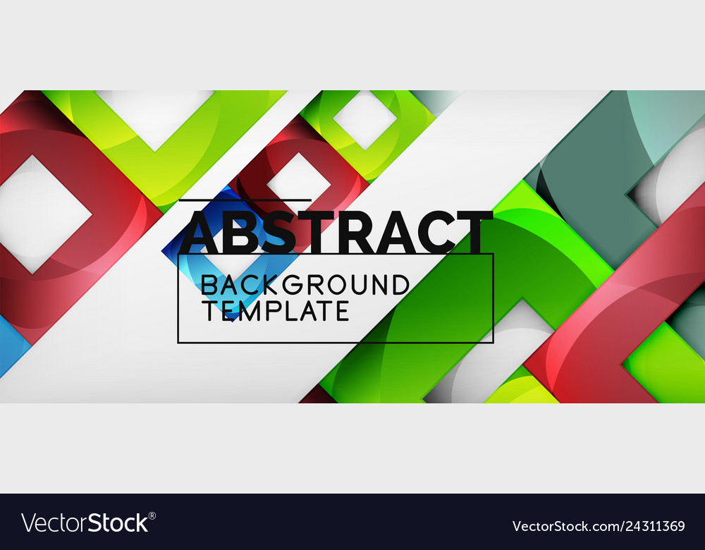 Abstract squares geometric background can be used