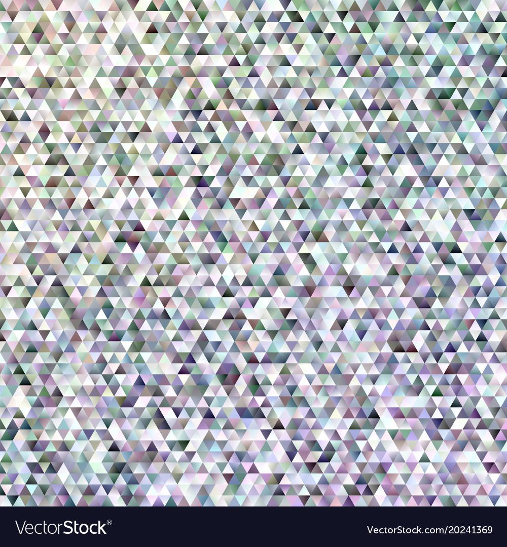 Geometric regular triangle mosaic background