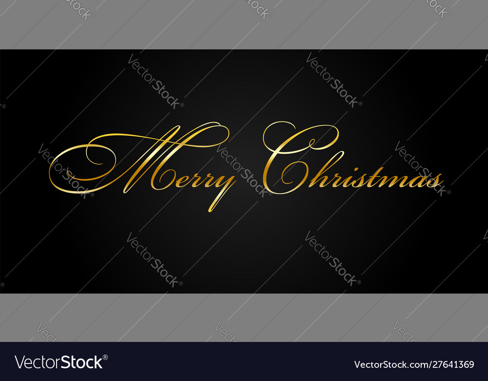 Merry christmas gold text decoration bright