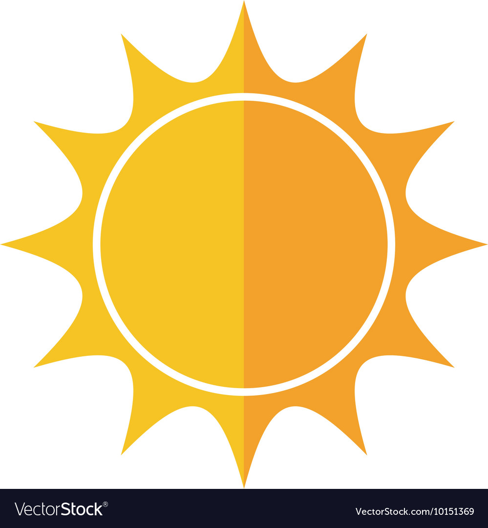 sunny sun abstract sunshine icon graphic vector image rh vectorstock com sunshine graphic vector sunshine graphic vector
