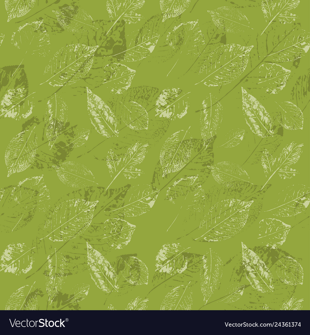 Beautiful floral seamless pattern leaves