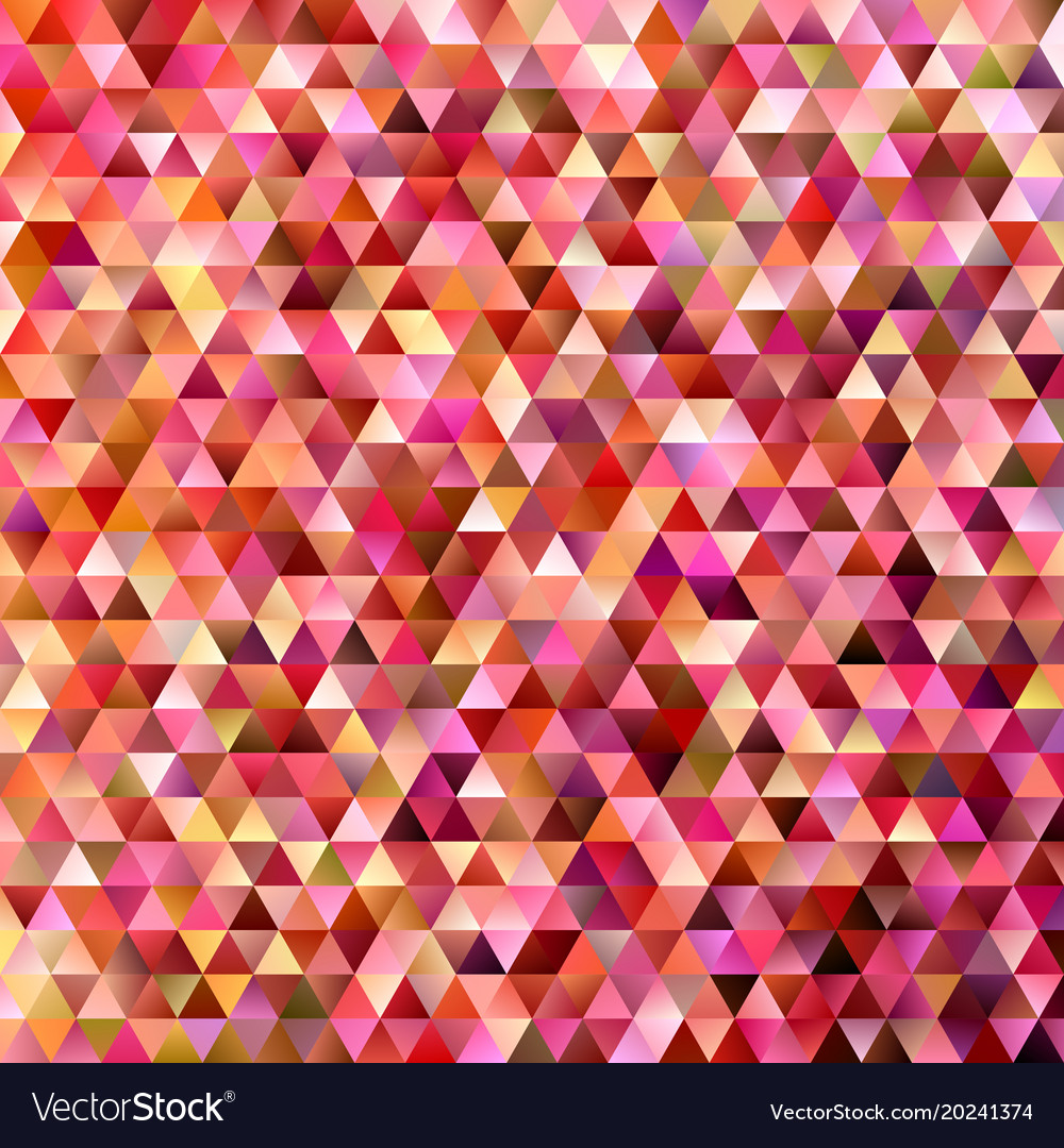 Gradient abstract tiled triangle pattern