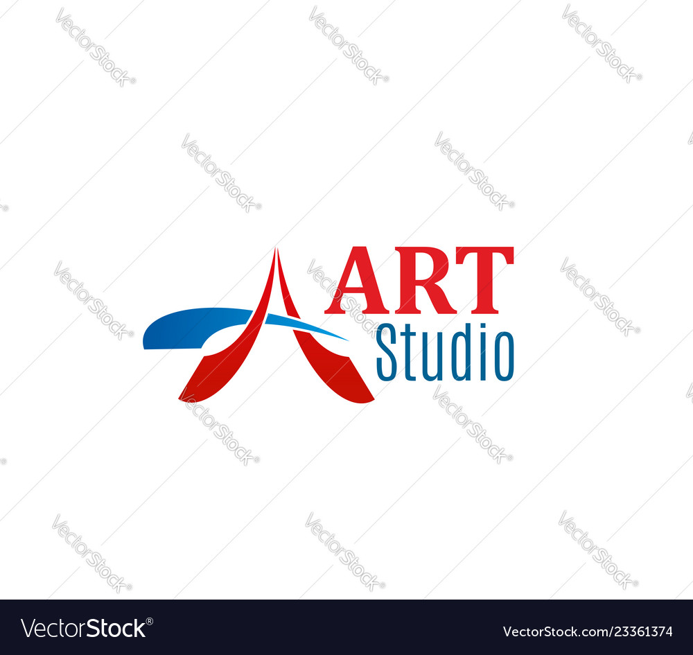 Sign of art studio