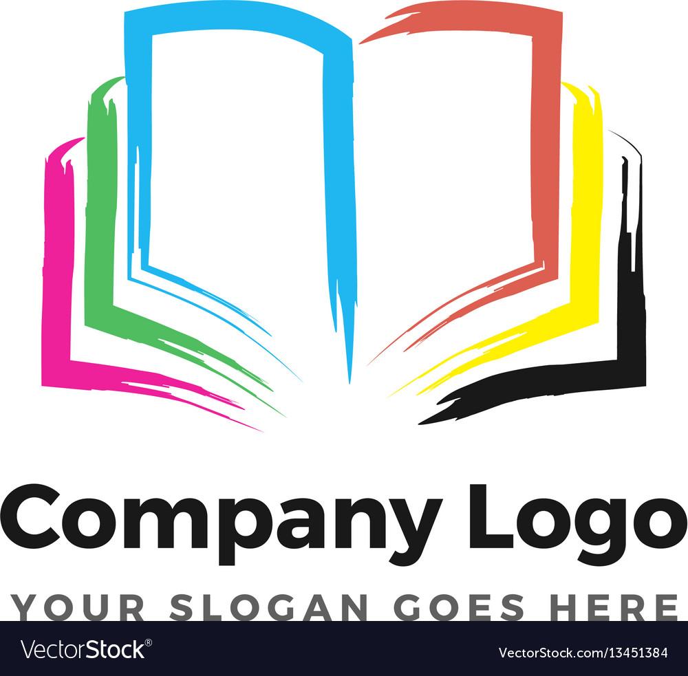 Color book logo