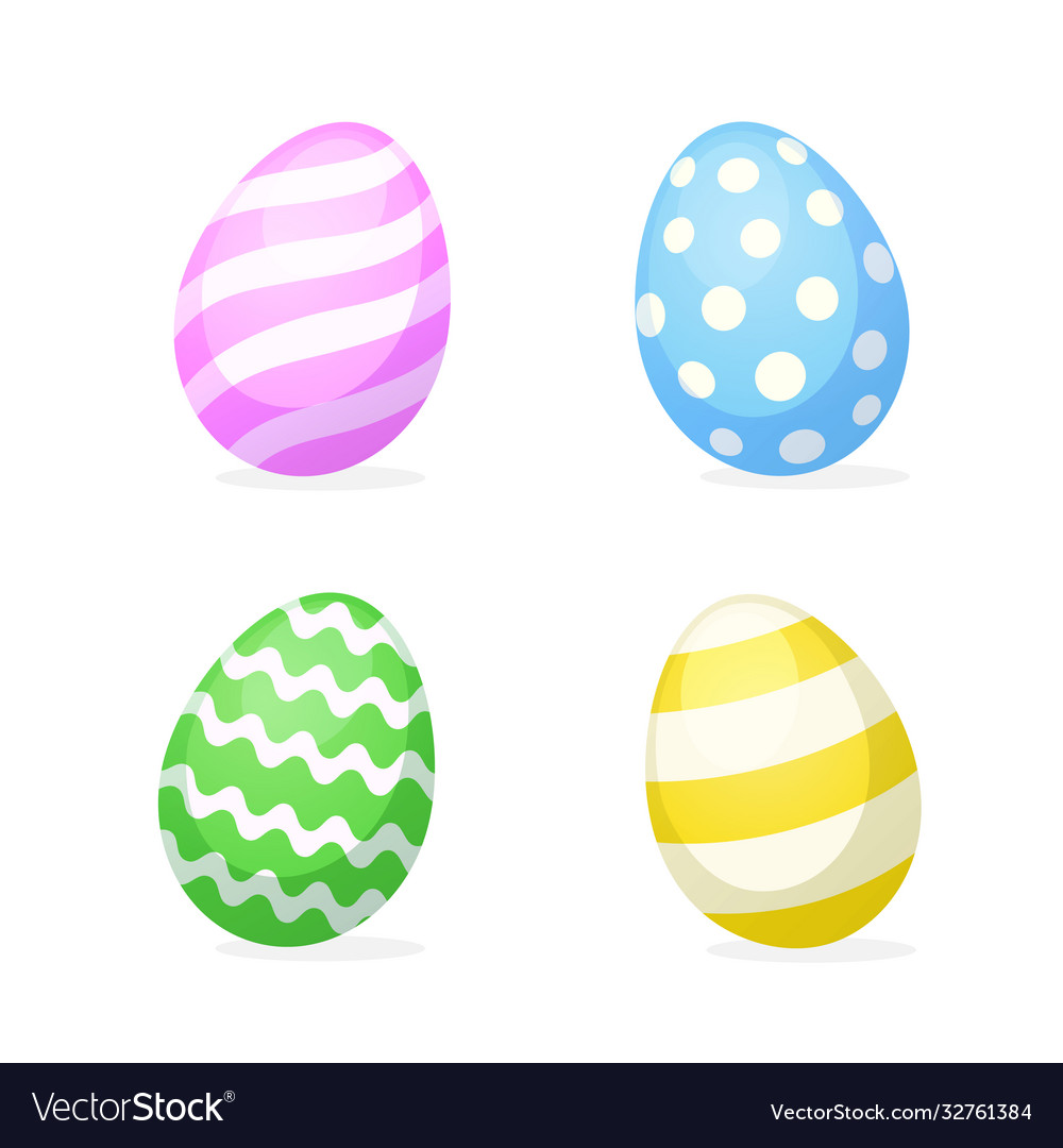 Set easter eggs