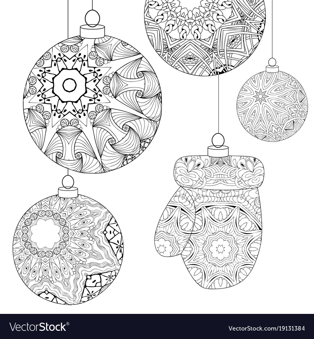 有名な Zentangle Christmas Ornament Drawing - カゼザナモ