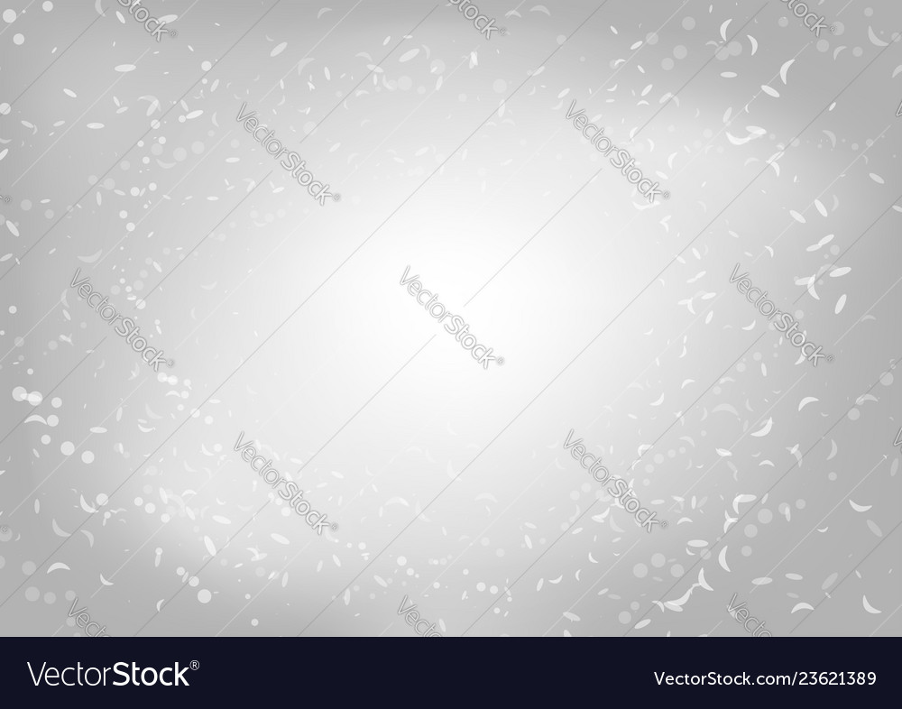 Abstract soft glitters on blurred gray background