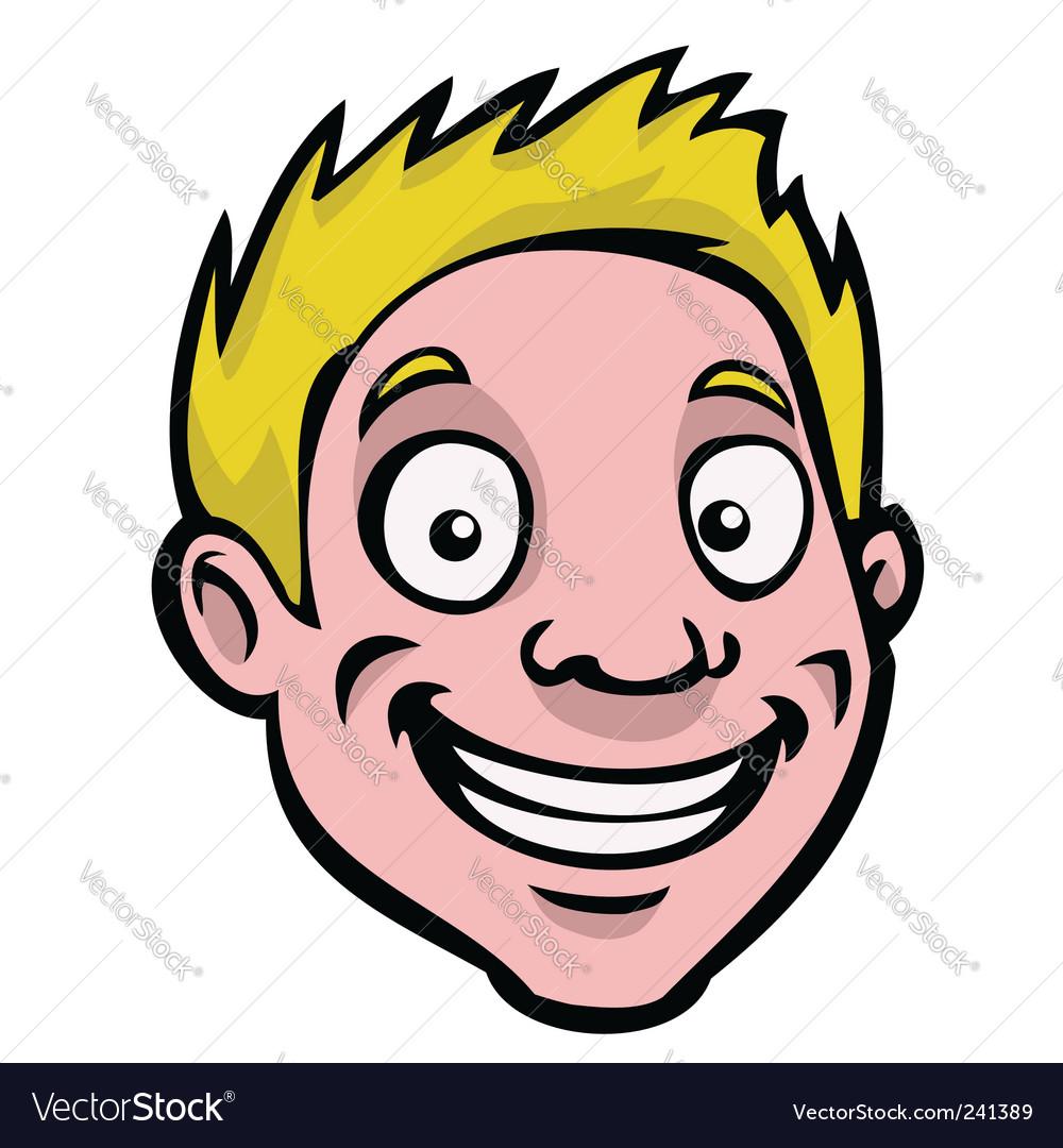 Male cartoon face
