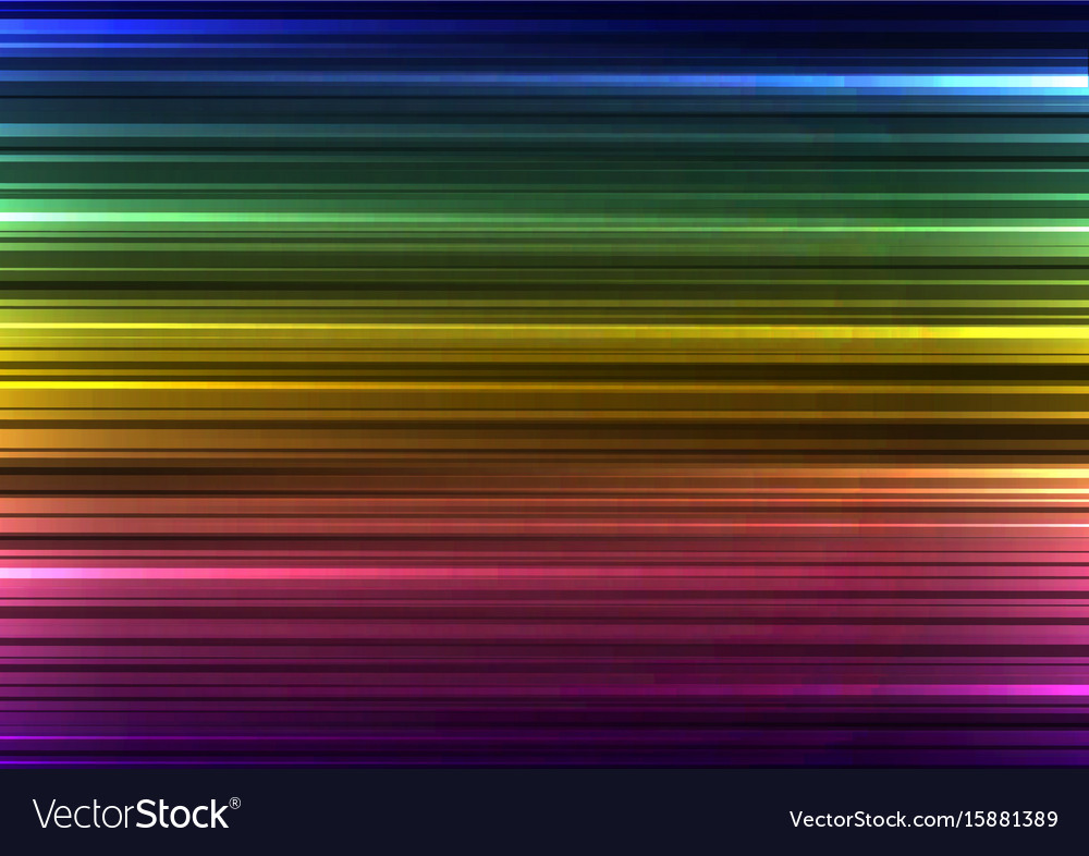Rainbow abstract bar line background
