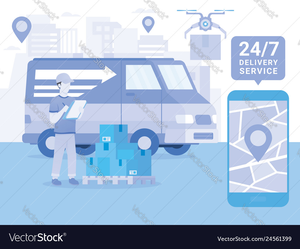 Logistics and transportation delivery service