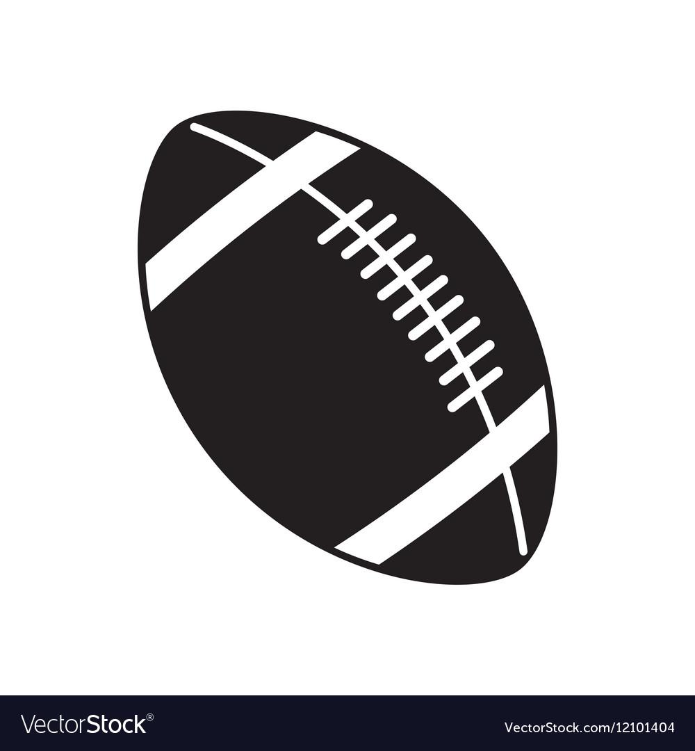 ball of american football design royalty free vector image