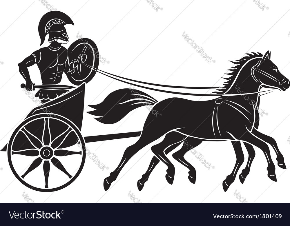 Chariot vector image